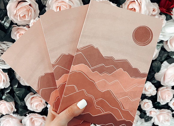 The Sunset Notepad