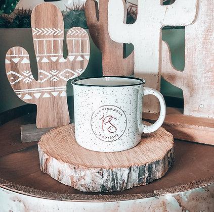 Pink Spur Campfire Mug