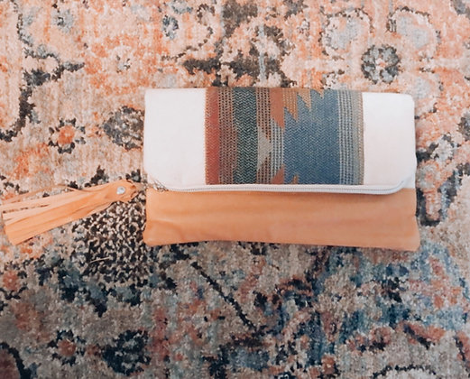 The Audrey Folded Clutch