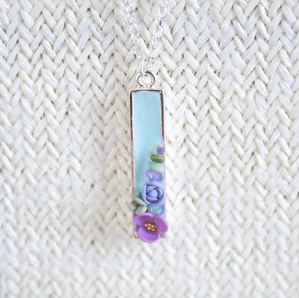 Succulent Bar Necklace