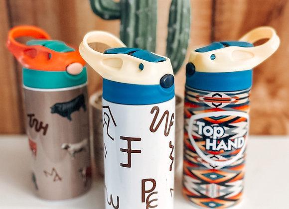 Kids Cow Boss Travel Cups