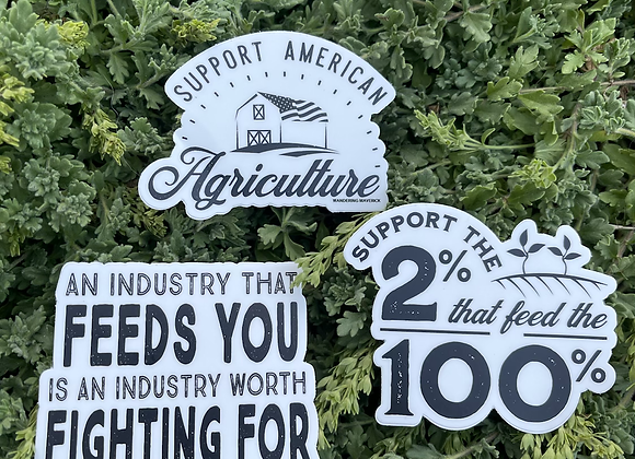 Agvocate Stickers