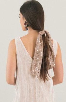 Rose Gold Sequin Sash