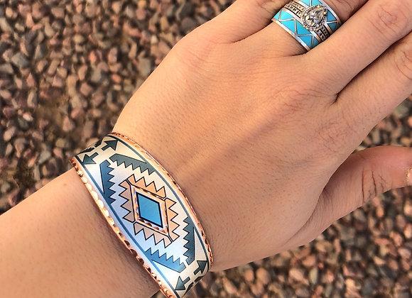 The Mesa Adjustable Copper Cuff Bracelet