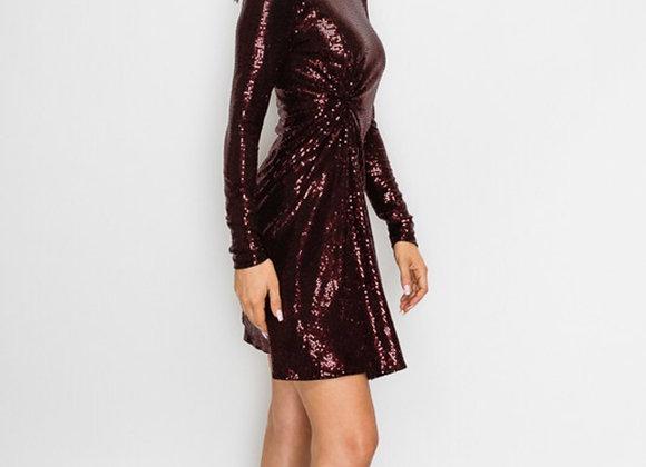 Midnight Merlot Dress
