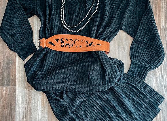 The Sheridan Dress Black