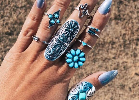 Desert Dreamer Ring Set