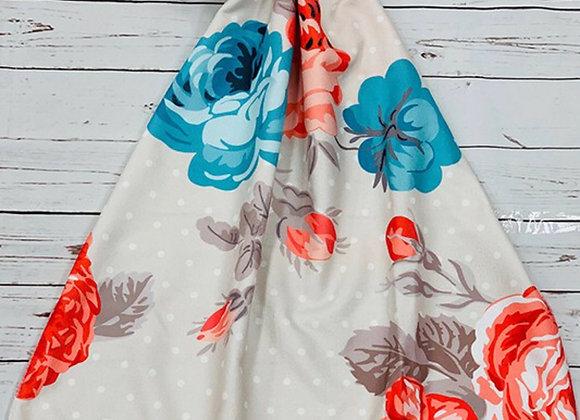 Flower Garden Towel