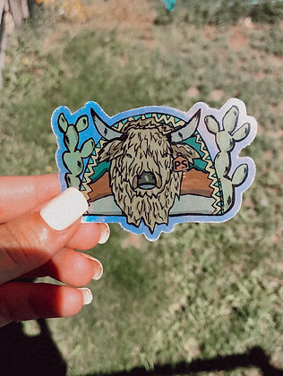 Wooly Bully Shimmer Sticker