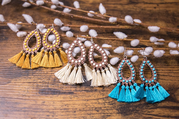 The Wynona Fringe Earrings