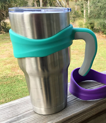 Turquoise Comfort Grip Handle for 30oz Tumblers