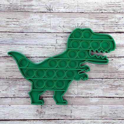 Pop Bubble Fidget Toy - T-rex