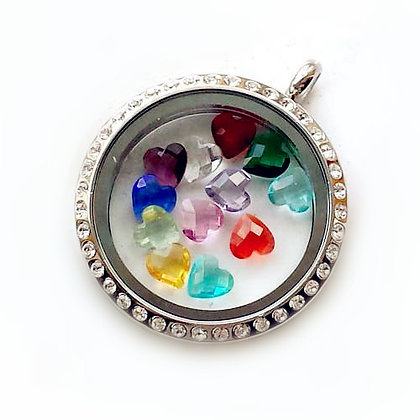 Floating Birthstone Charms (Set of 2)