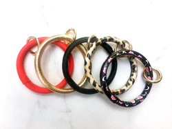 O ring Bangle Keyring