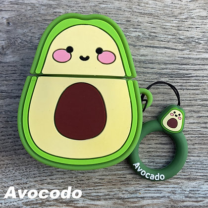 Avocado Cover for Airpods/Earbuds