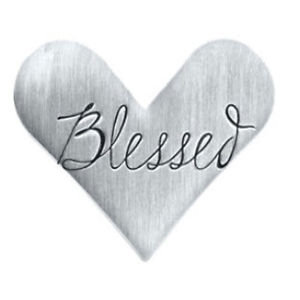 Floating Locket Blessed Heart-Shaped Plate