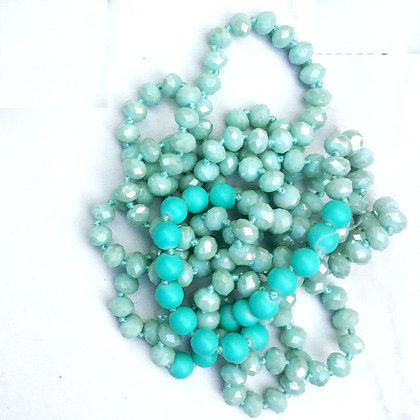 """Mint 60"""" Hand Knotted Beads"""