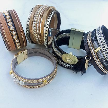 Magnetic Stack Bracelets