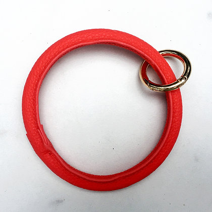 Red O Ring Keychain