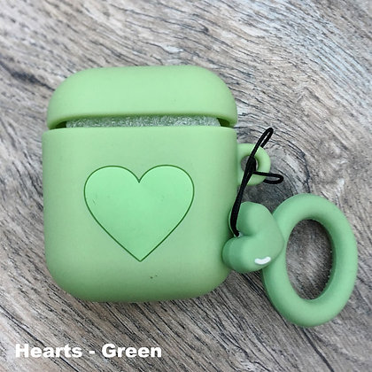 Hearts Cover for Airpods/Earbuds