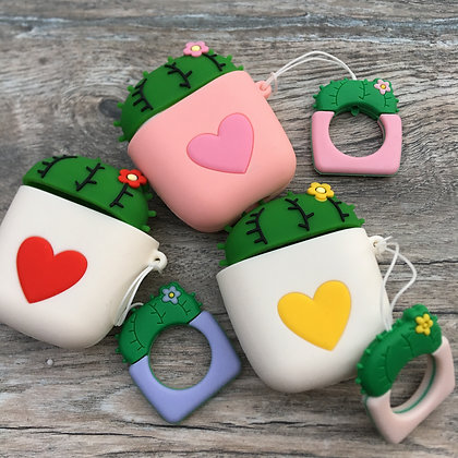 Cactus Heart Cover for Airpods/Earbuds