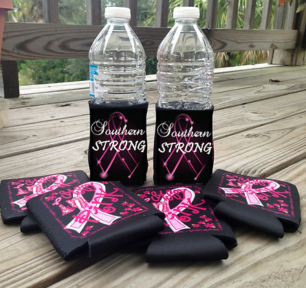 Breast Cancer Awareness Coozies (2 Pack)