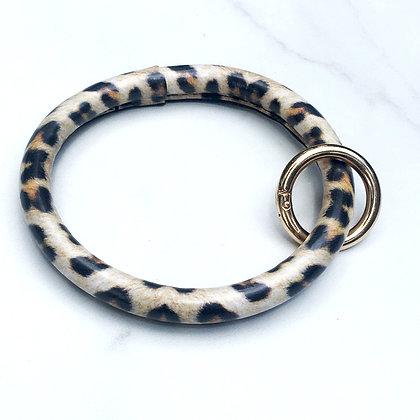 Leopard O Ring Keychain