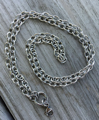 "24"" Chain w/Lobster Clip"