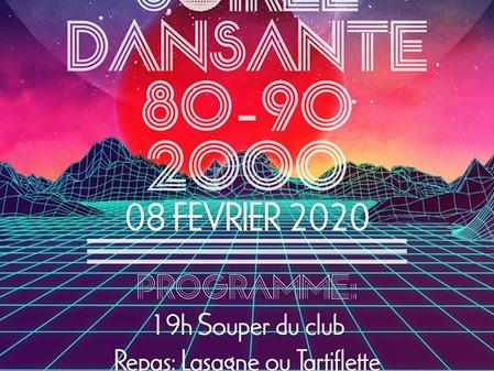 Soirée du club 08/02 !!!