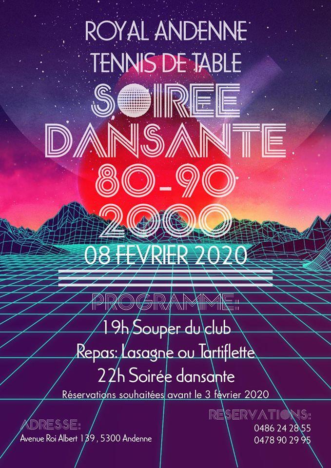 Venez nombreux !!! Invitez vos amis, famille à partager ce moment.dès 19h. Tartiflette (12€) ou lasagne (8€),  soirée (22h) sur invitation d'un membre du club.