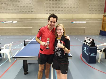 La paire Moreau-Ancelot remporte le premier tournoi double du R.A.T.T.