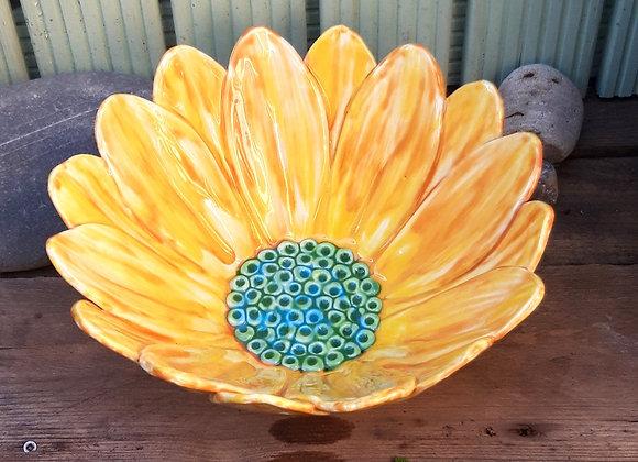 Large Sun Flower Bowl