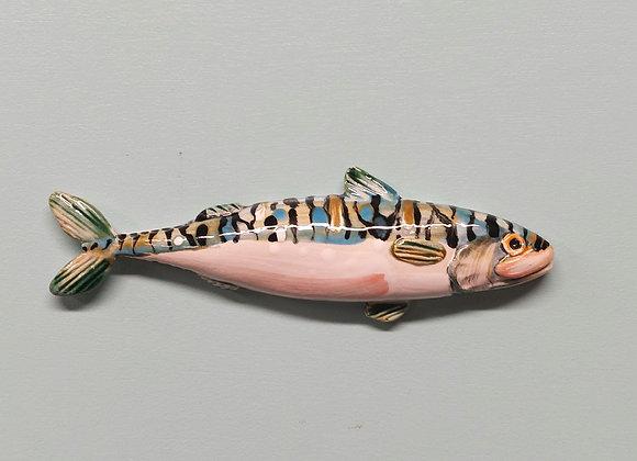 Small Wall Hanging Mackerel, 31 cm long