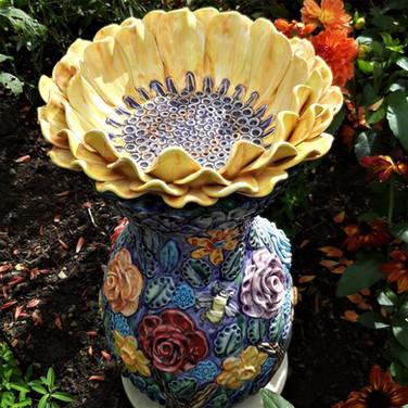 Sunflower Sculpture.