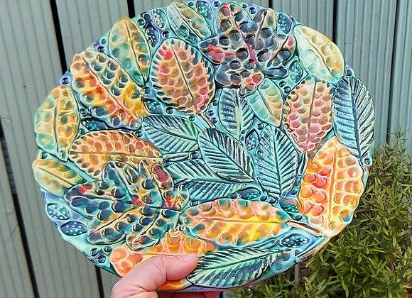 Autumn Leaves Dish
