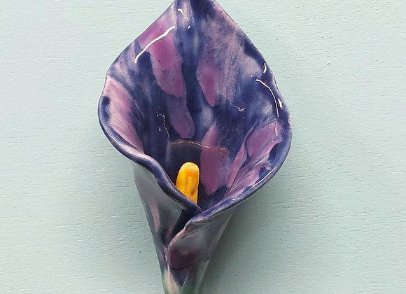 Purple Wall Hanging Calla Lily