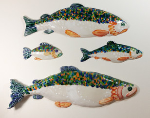 Wall Hanging Trout