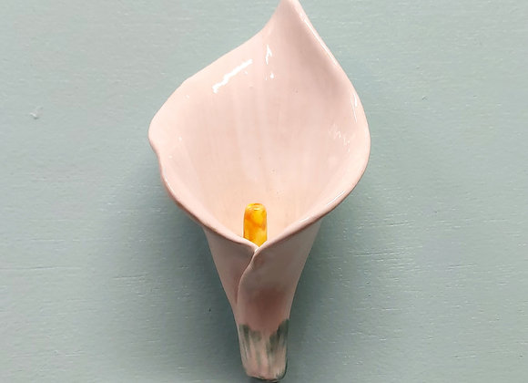 Wall Hanging White Calla Lily