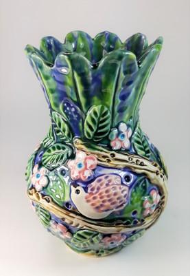 Love Birds Vase
