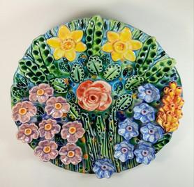 Springtime Wall Plaque
