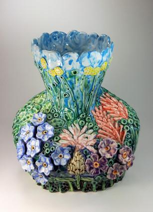 Sainfoin Bee Vase