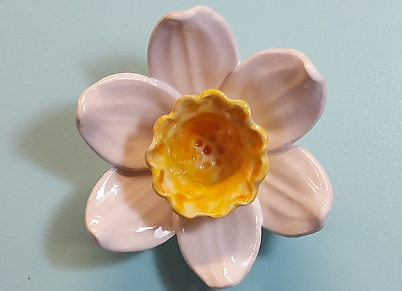 Wall Hanging Daffodil Sculpture
