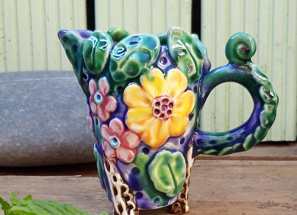 Small Jug with Flowers and Bee