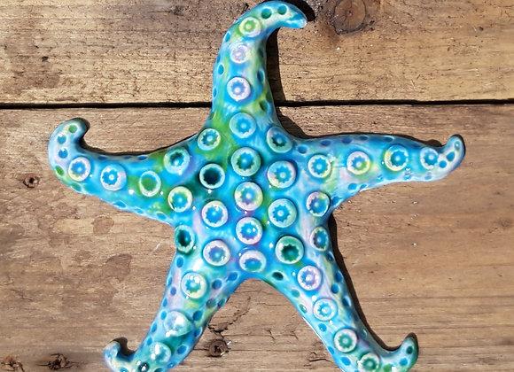 Ceramic Wall Hanging Starfish