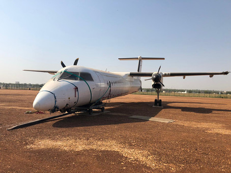 BCG performs Dash 8 Q400 recovery in Juba South Sudan