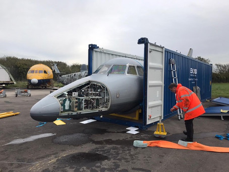 Meet our new Disabled Aircraft Shipping Container