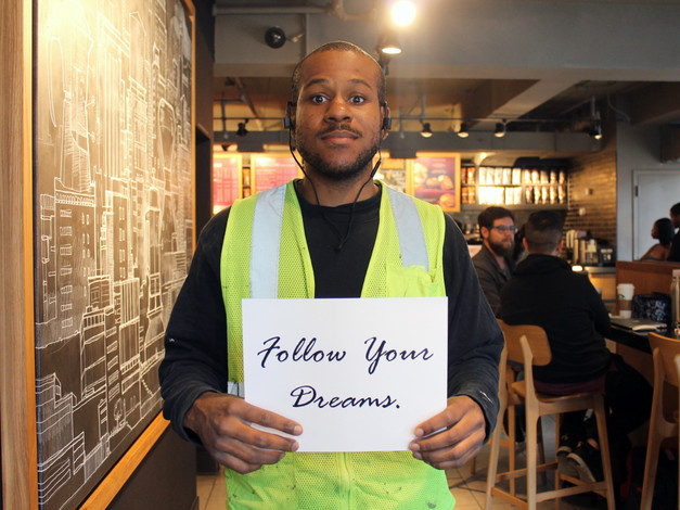 Meet Leroy of Queens, New York his dream is to open up a church.