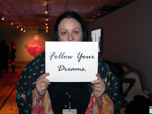 Meet Kelly Cutrone of Camillus, New York her dream is for everybody to have equal rights.