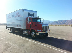 Long Distance Moving Truck