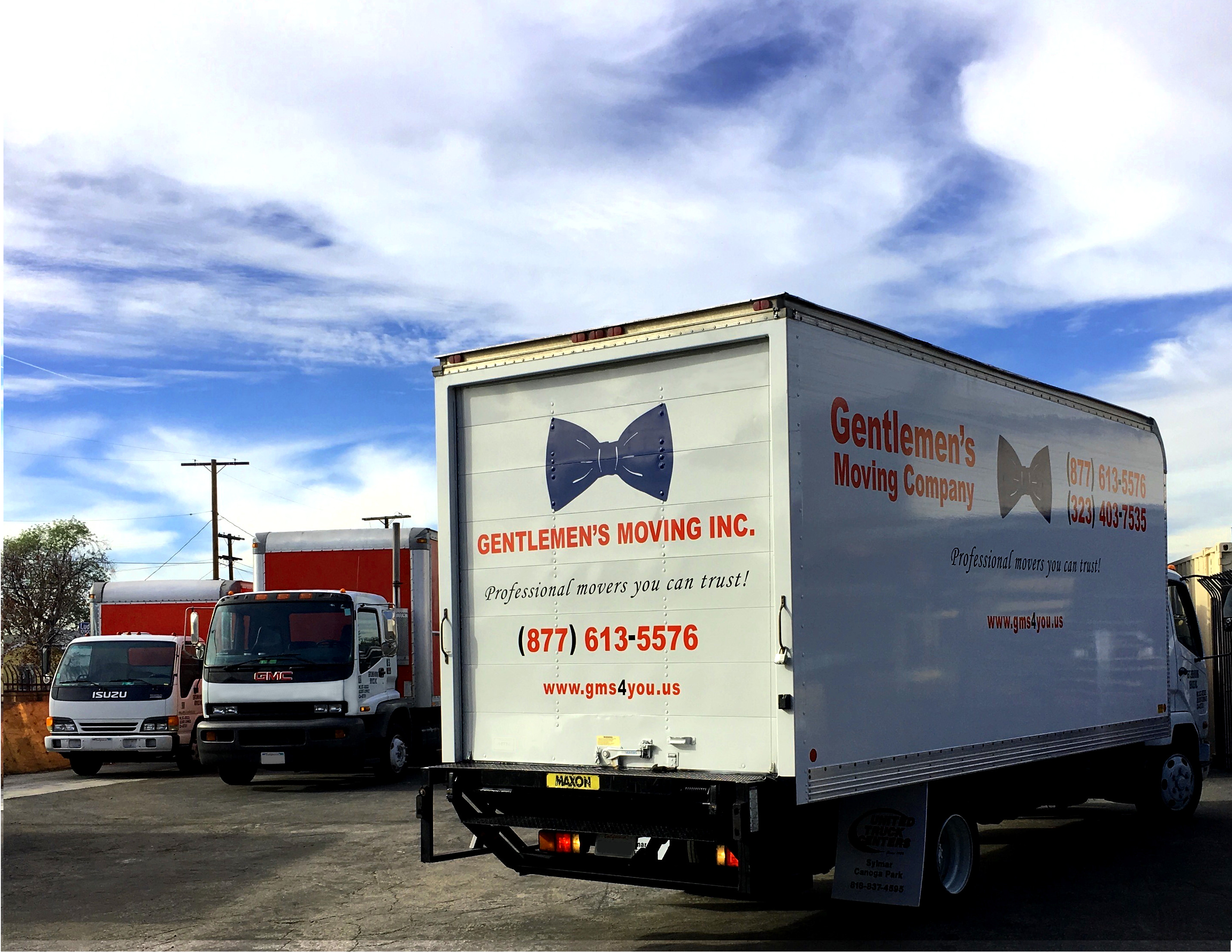 Gentlemen's Moving Trucks